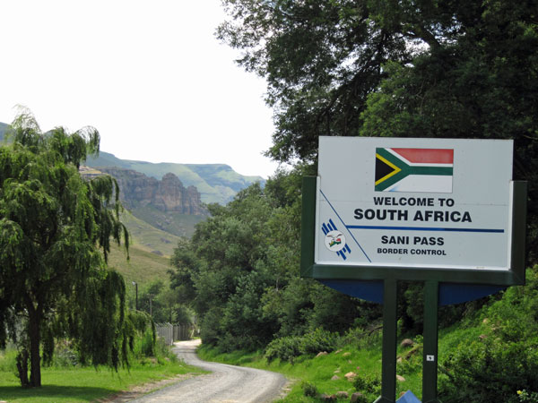 South -African -border -post -Sani -Pass